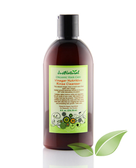 Just Natural Hair Care Vinegar Nutritive Rinse Cleanser